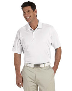 White Adidas Polo A130
