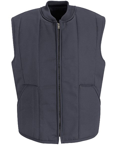 Red Kap Quilted Vest Uniform Sales Inc